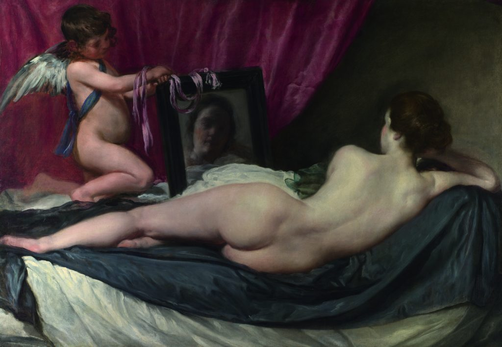 Venus in the mirror is not a Manet: it was i$painted in 1646-1651 by Velazquez