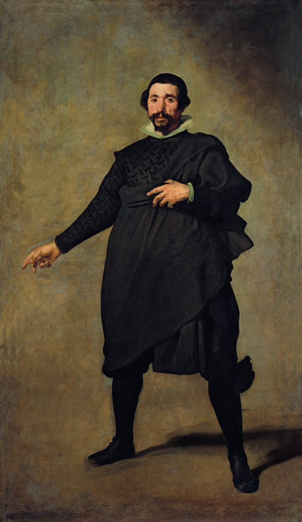 Pedro Valladolid, a famous bouffon came from the Prado