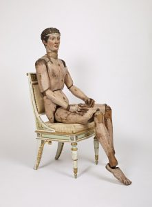 One of the oldest mannequins, mad win Italy in 1810