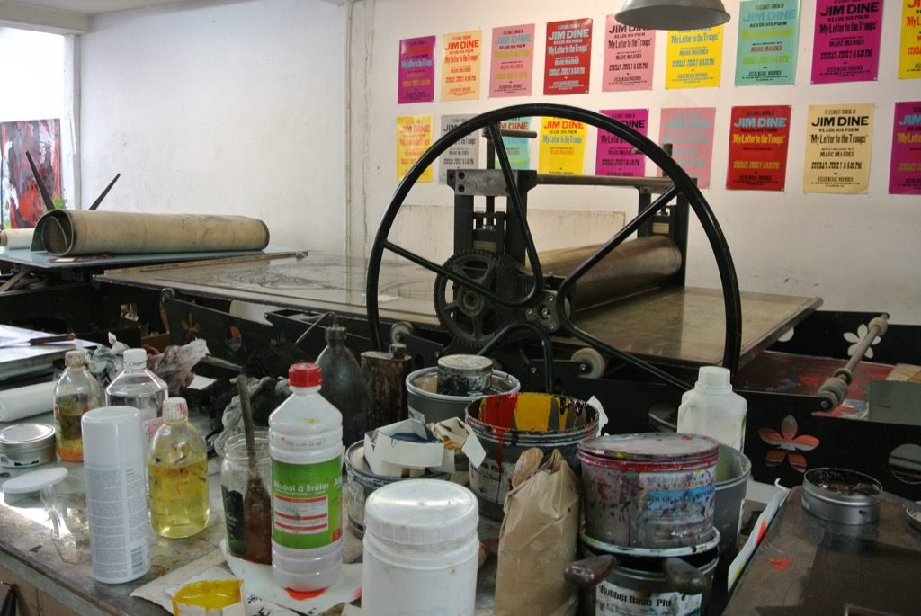 Some of the printing machines date back to the 19 th century and are all mechanical