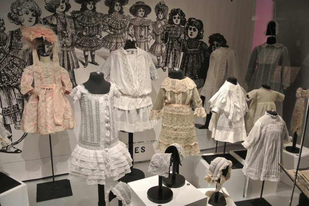 Children clothes from the 19 th century
