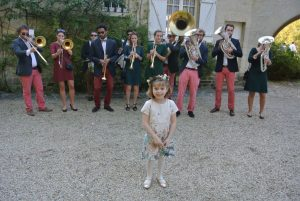 Cybèle and the band