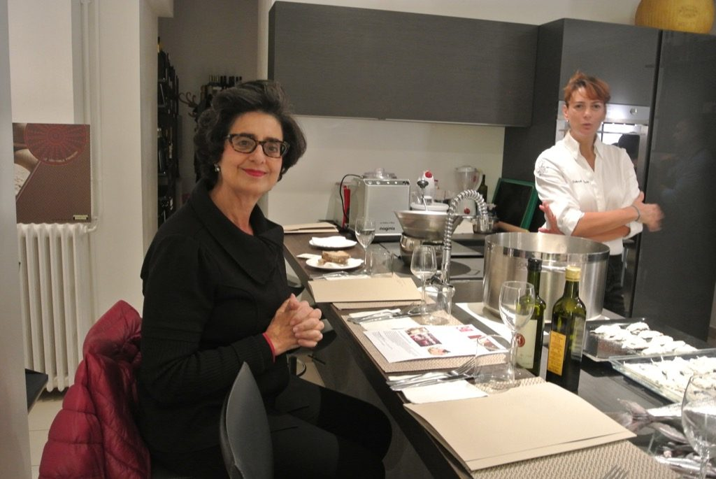 Marina Valensise built the kitchen and started the Young Italian Chef program