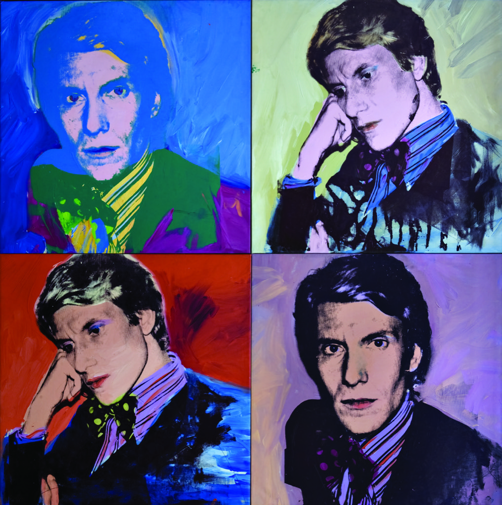 Andy Warhol, Portraits d'Yves Saint Laurent, 1972 Fondation Pierre Bergé - Yves Saint Laurent, Paris