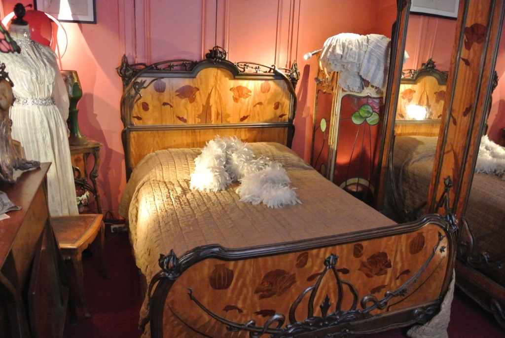 Beds are an important part of the museum's decor