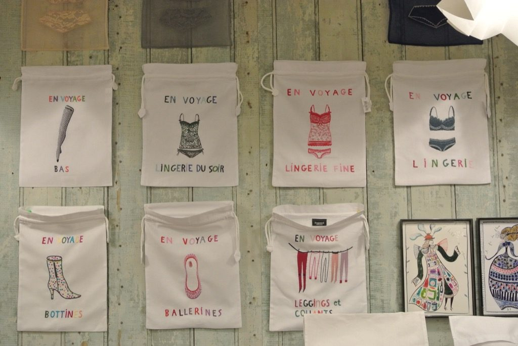 Bags for all purposes are witty and pretty