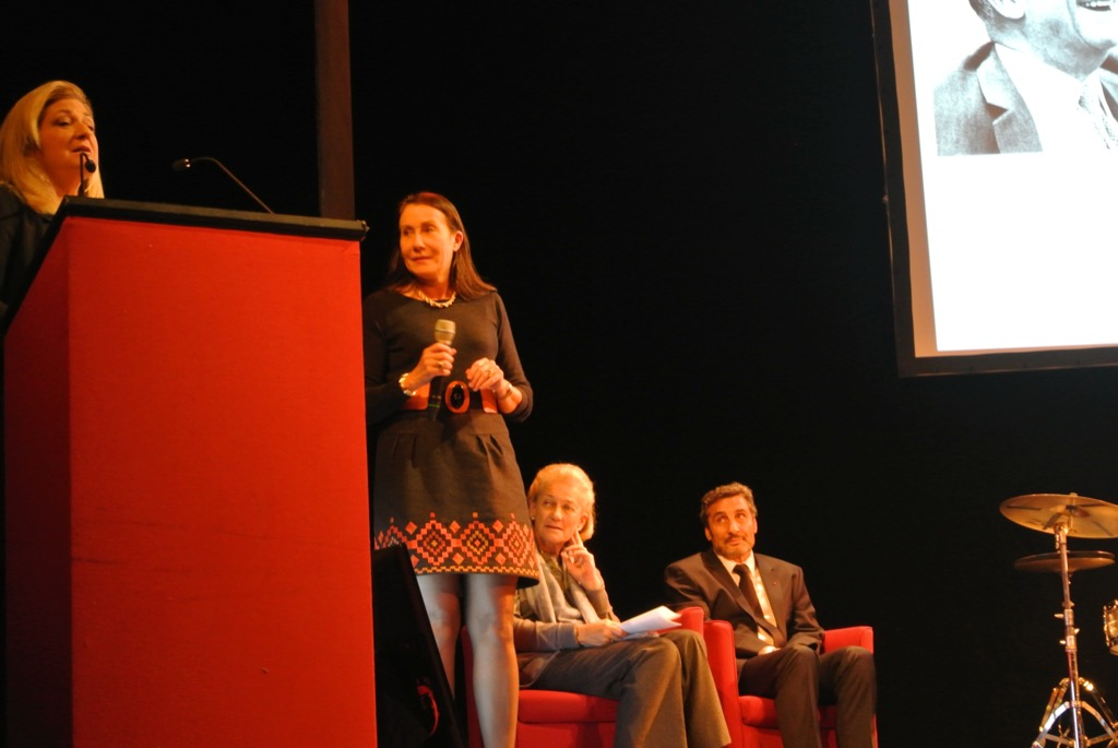 Veronique Deboise, a laureate in 1988 does back with her successful experience