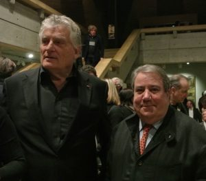 Pierre Gianadda and Daniel Marchesseau his long time acolyte