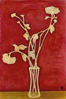 Sanyu (Chang Yu) One of his paintings was recently sold for close to 10 million€