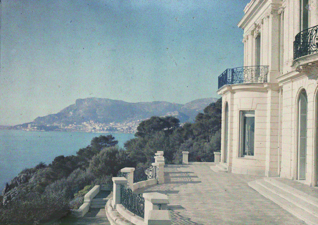 Albert Kahn's villa of Cap Martin where so many famous bankers and philanthropists spent their summers