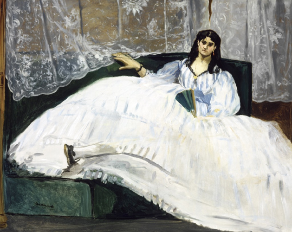 Woman with a Fan, Edouard Manet, 1862