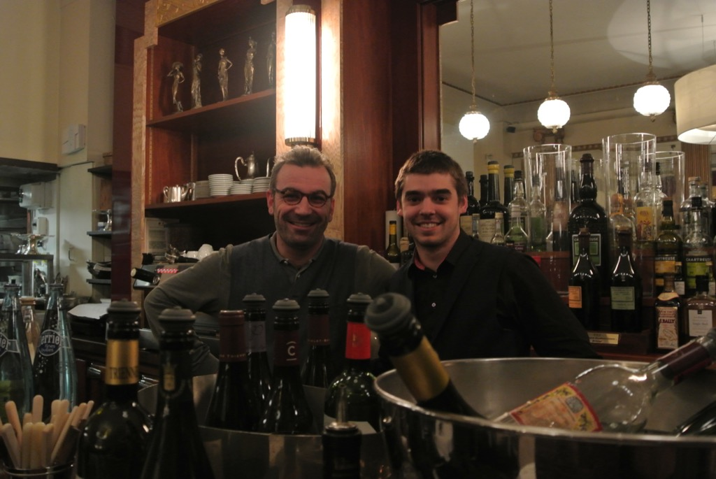 The two sommelier who run the place are knowledgeable and understanding or customers tastes