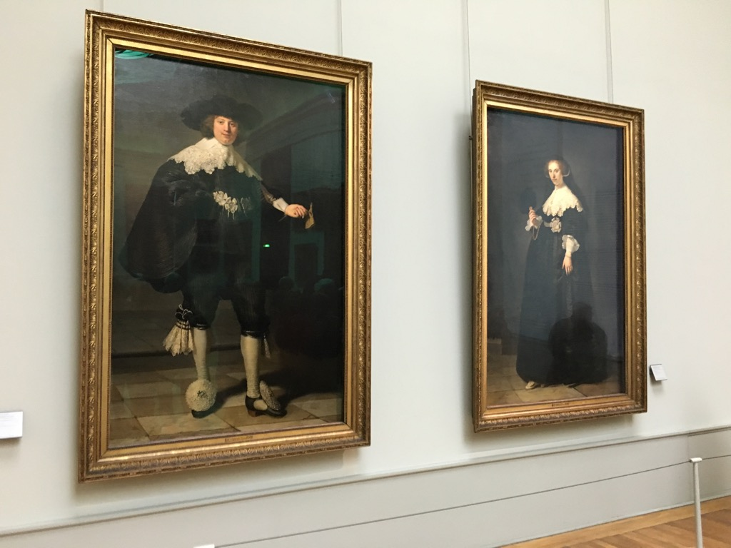 Maerten Soolmans and Oopjen Coppin, by Rembrandt will remain together forever