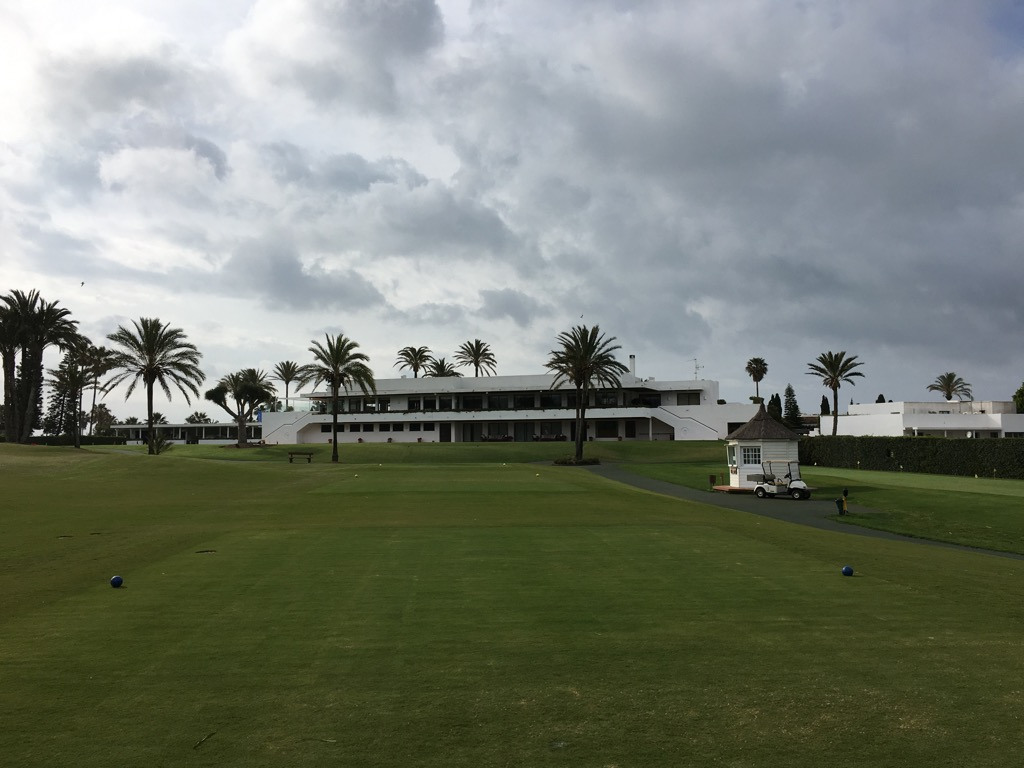 The club house was built in 1964 by Luis Guttierez Soto