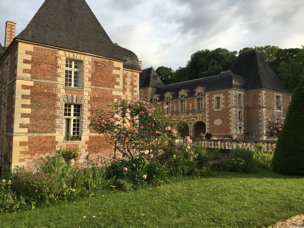 Château de Jussy was built in the 17 th century in Berry, the center of France