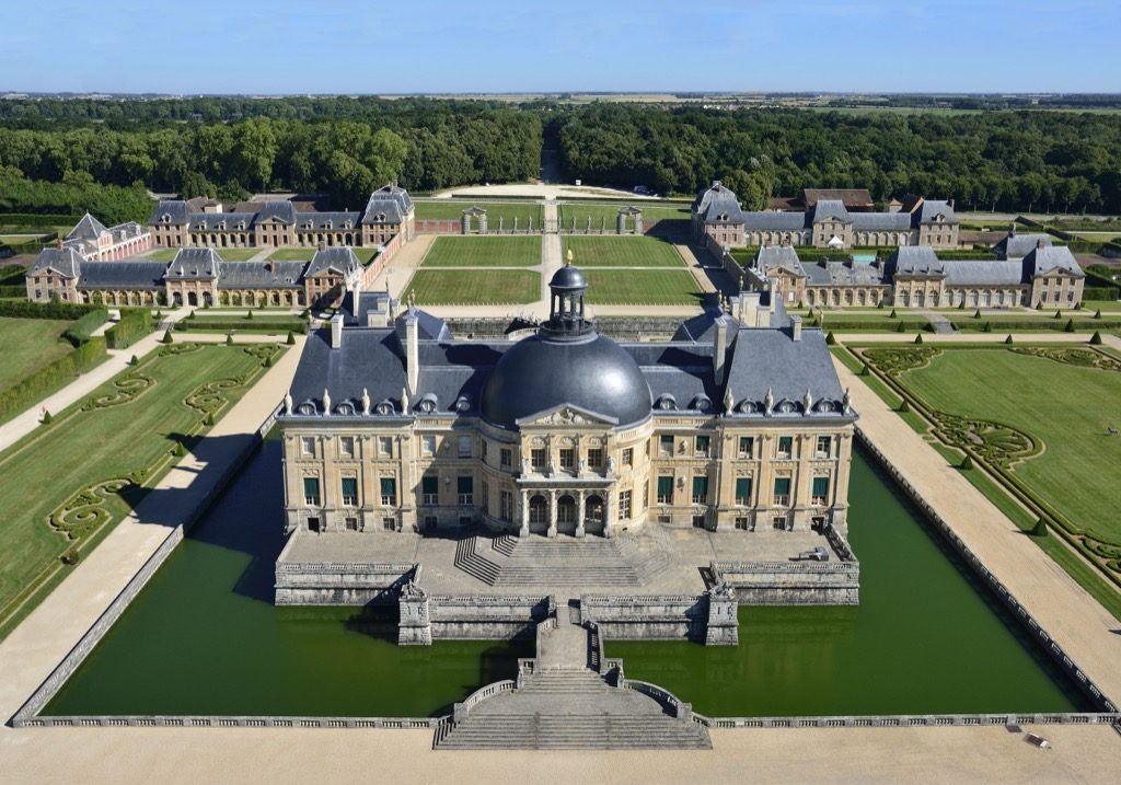 Vaux le Vicomte, castle and garden is about harmony