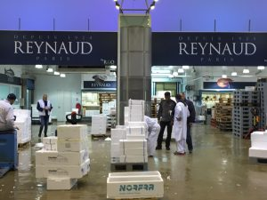 Reynaud is the largest fish monger with 250 Million euros turnover a year
