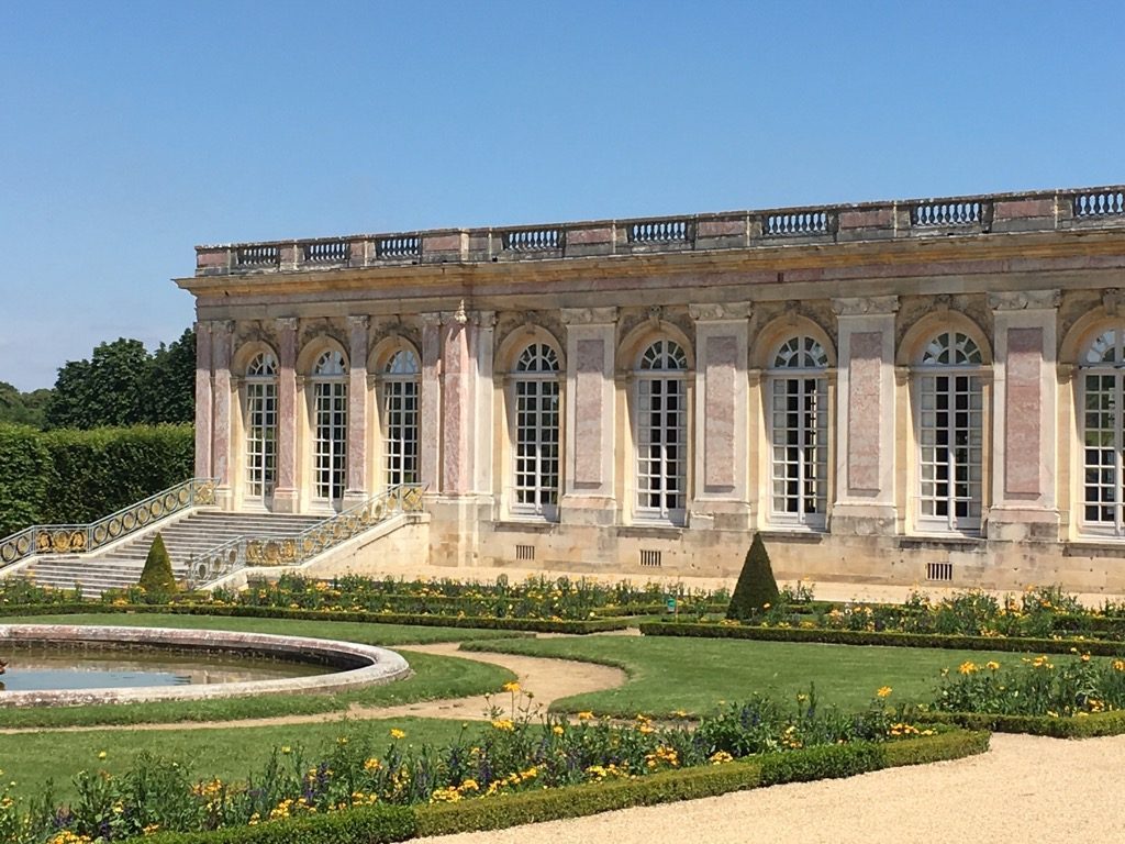 Trianon is delightfully restored partly thanks to de Gaulle grand ambitions