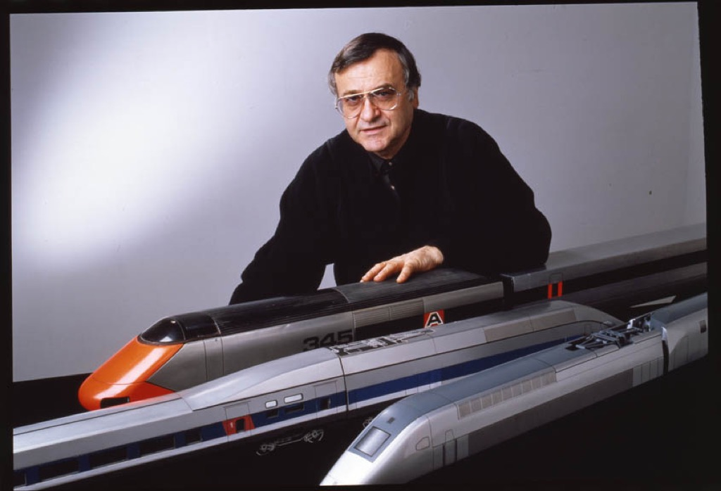 Roger Tallon a great designer of high speed trains