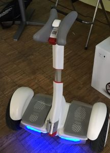 Ninebot by Segway is attractive to girls also