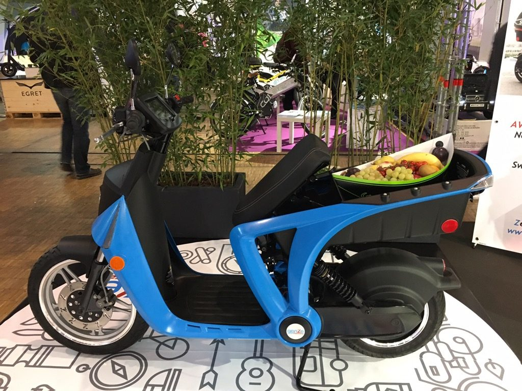 The GenZe 2.0 electric generation zero emission also in 2017