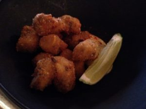 The bulots panés (fried whelks) are fabulous