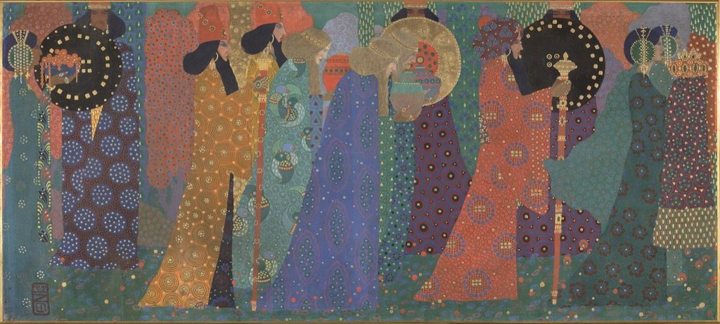 Vittorio Zecchin, ONe and thousand nights, 1914, © Musée d'Orsay,
