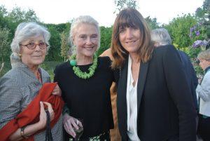 Catherine de Leusse, Joy Hendericks and aBarbara Baumel