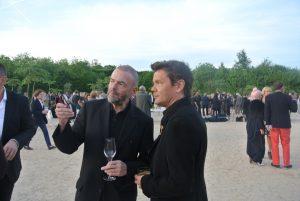 Jean Paul Cluzel and Jean Michel Othoniel