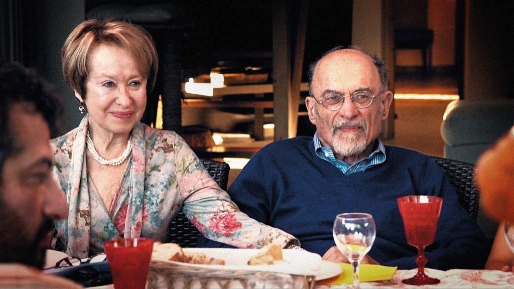 Marilyn and Irv Yalom celebrating at 80
