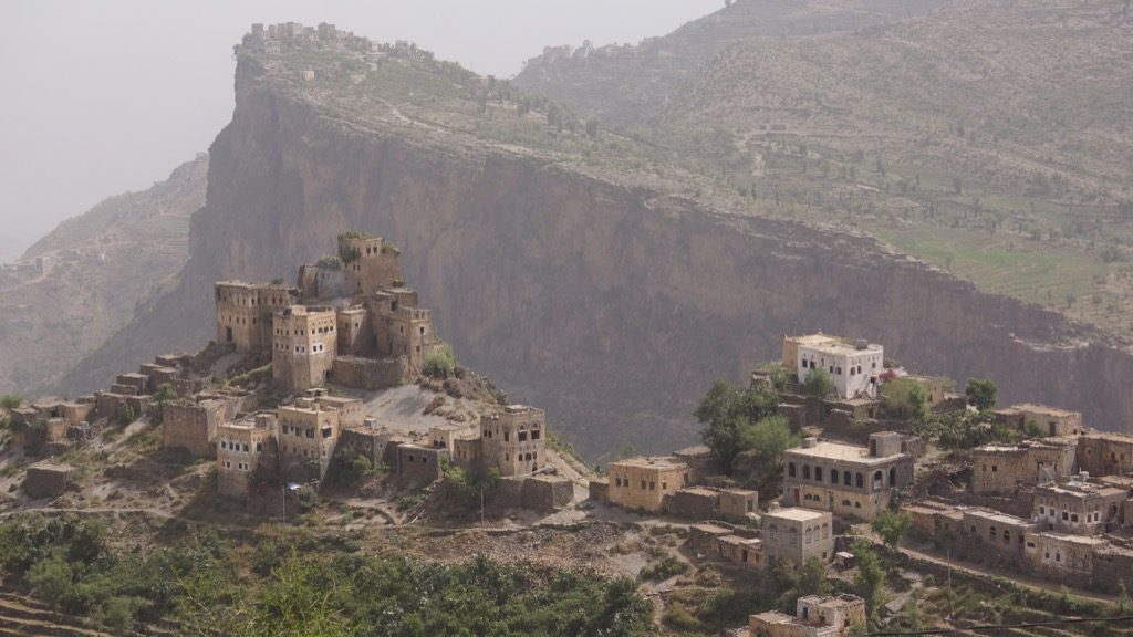 This is the village in Yemen where Nujoom is taken to live with her husband