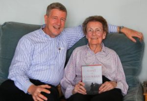 Charles Kaiser brought his first copy to Christiane Boulloche-Audibert, one of the three heroes of the book