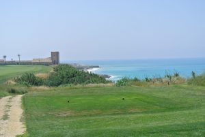 The Verdura golf club by Kyle Phillips can be tough on a windy day