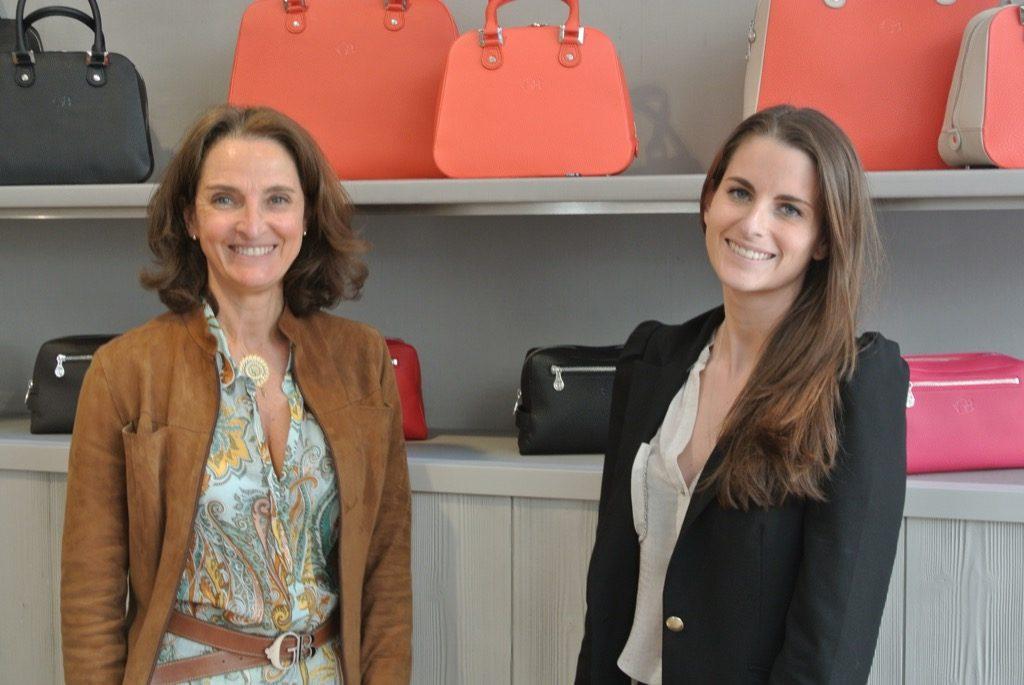 Gratianne and Amandine Bascans, what a team;