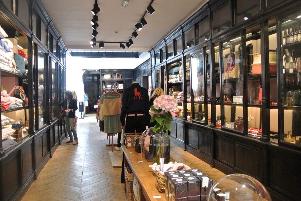 Inès de la Fressange's new shop is still searching  its soul