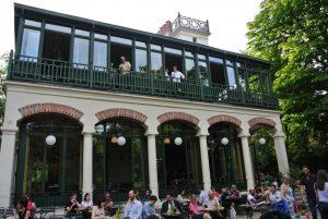 The Pavillon du lac has the best mojitos