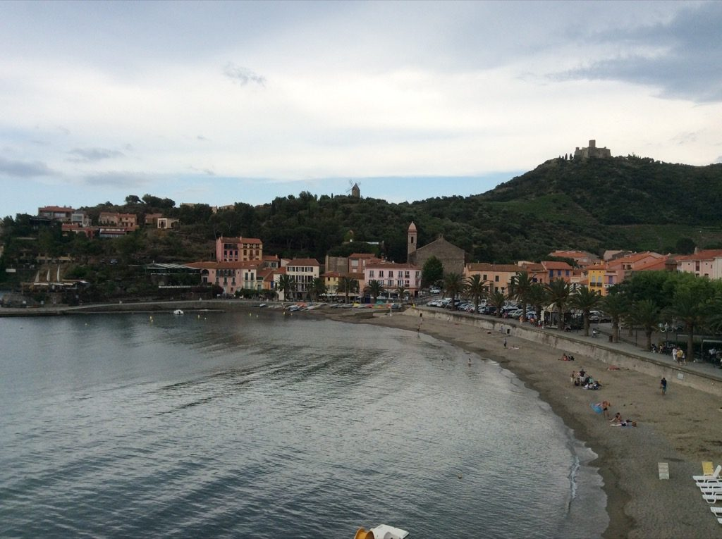 The little harbor of Collioure where Matisse painted