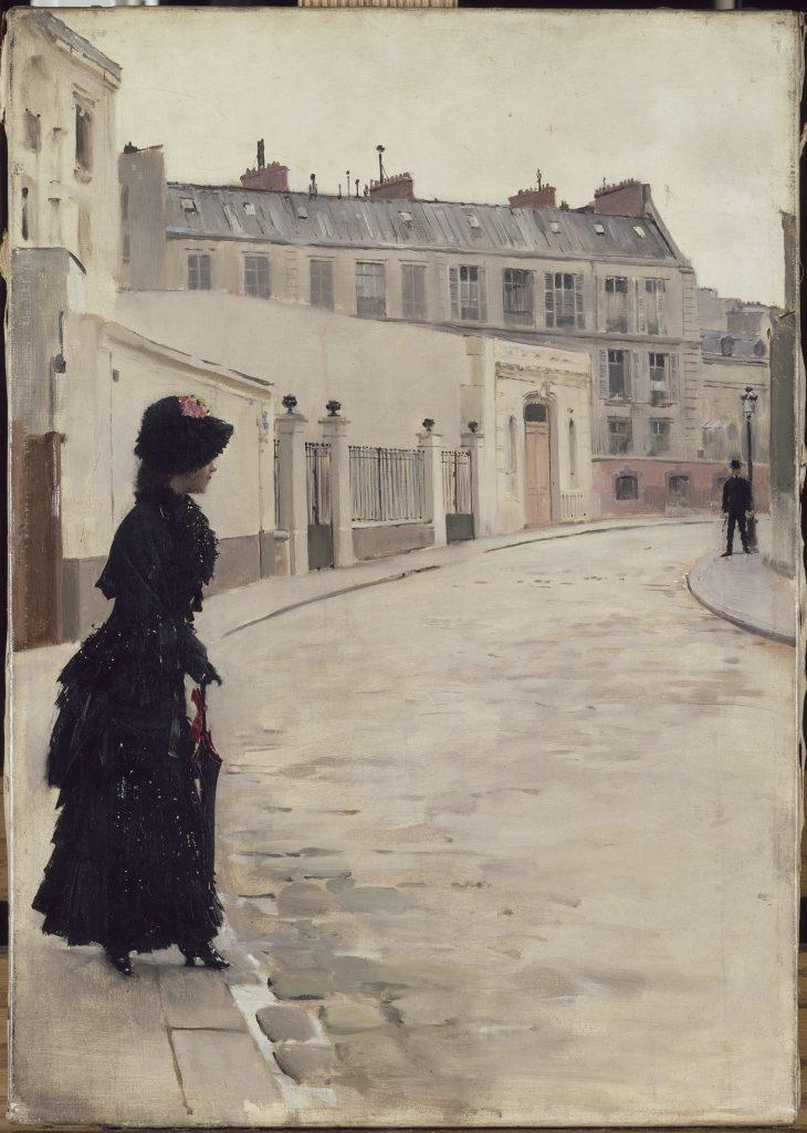 Béraud, L'Attente, (rue de Chateaubriand), 1880, © RMN-Grand Palais (Musée d'Orsay) / Franck Raux