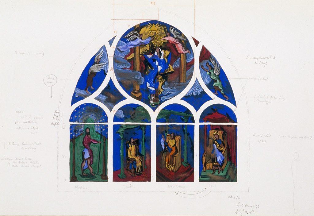 15 - Garouste - Le Couronnement de la Vierge