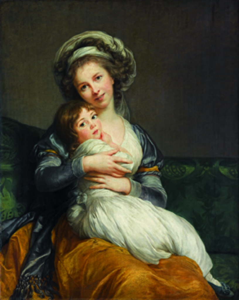 Elisabeth Vigée-Le Brun with her daughter Jeanne-Lucie