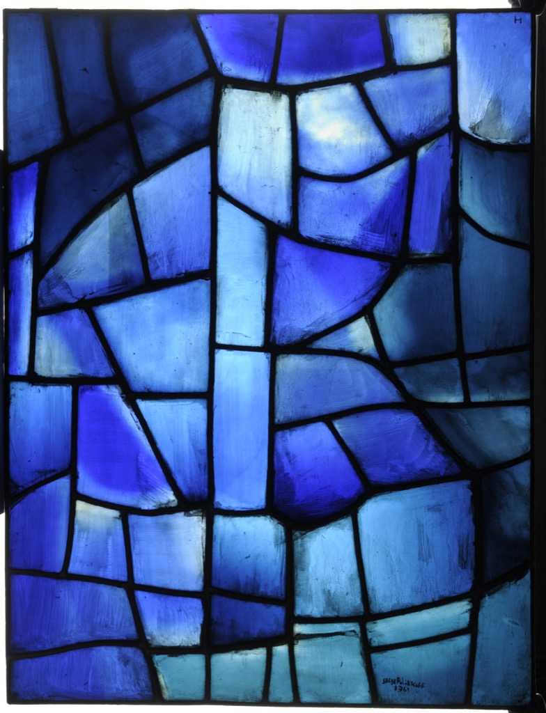 Image of: Stained Glass Windows As Contemporary Art Paris Diary By Laure