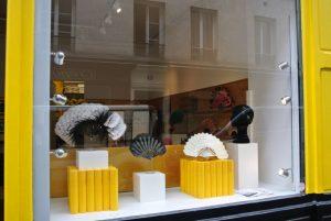 The shop window on rue Amélie