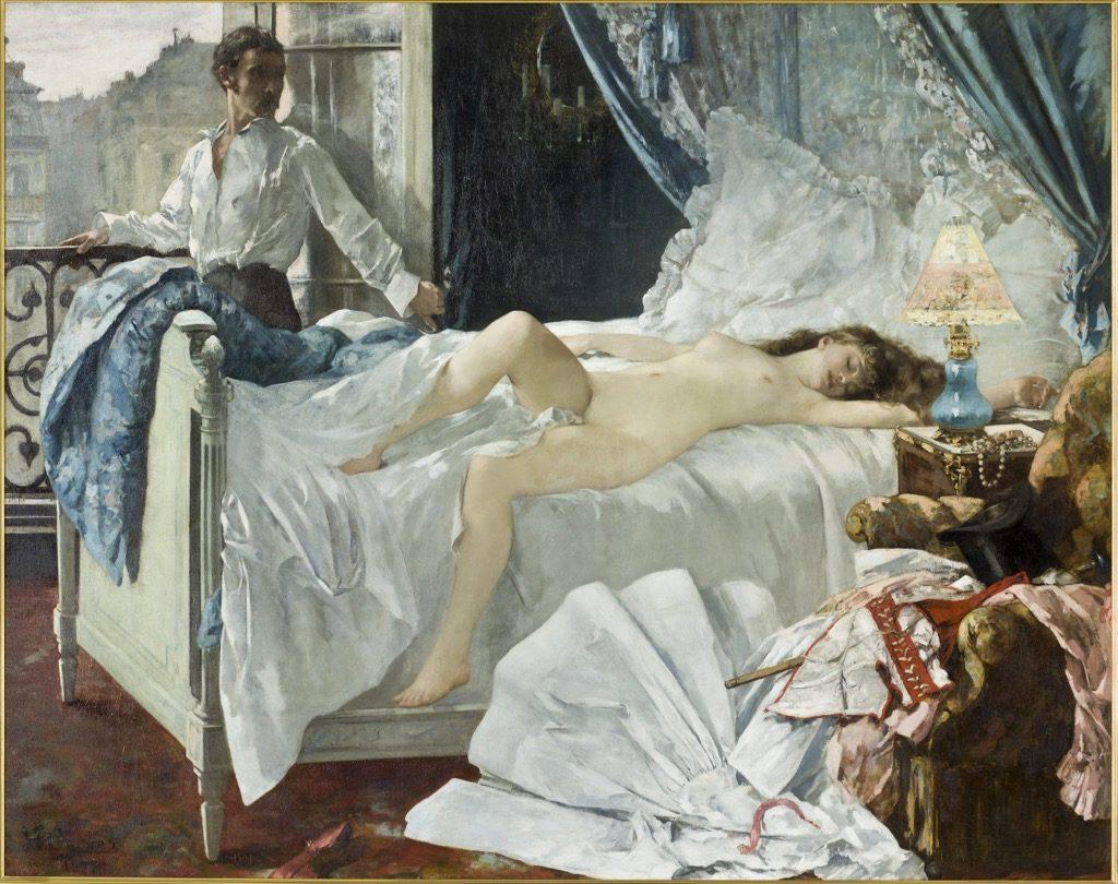 Henri Gervex, Rolla, 1878, © Musée d'Orsay, Dist. RMN-Grand Palais / Patrice Schmidt
