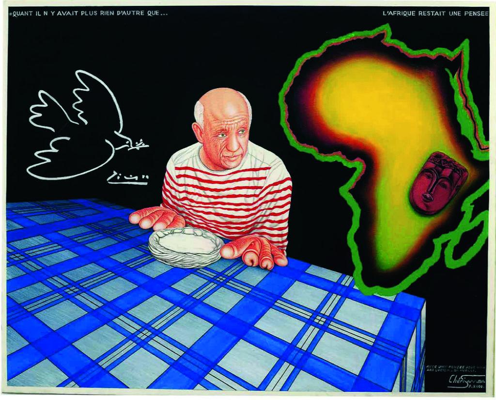 Chéri Samba, Picasso 2000 © Chéri Samba
