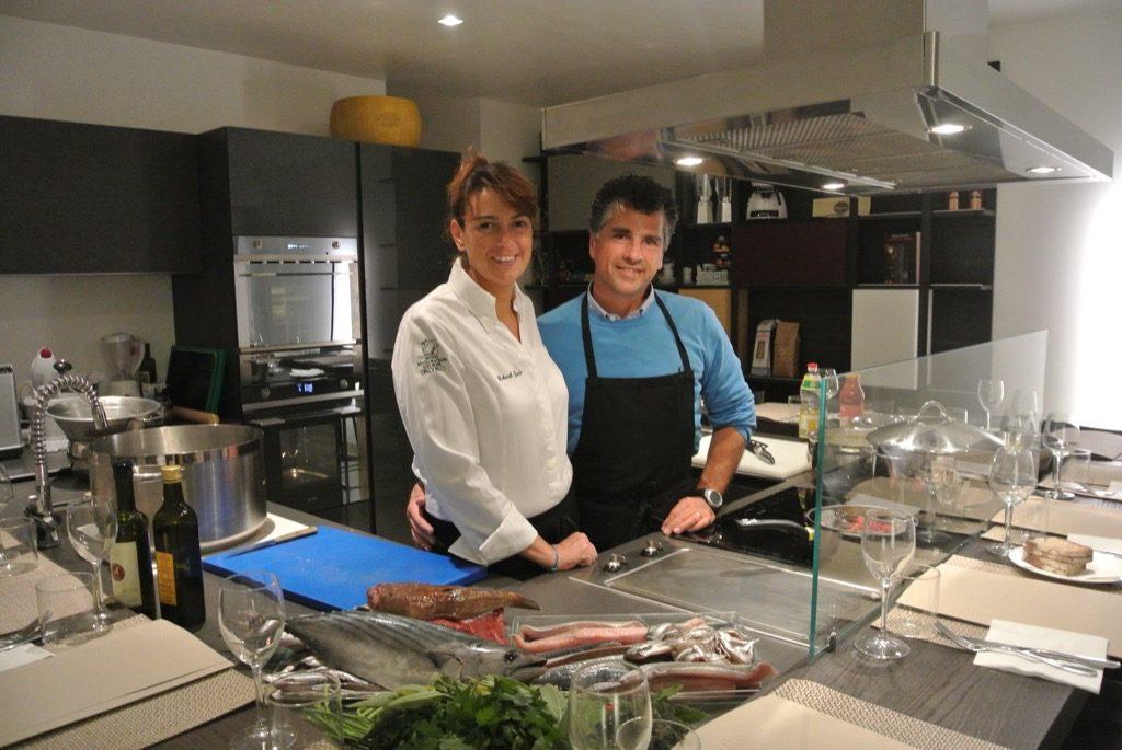 Deborah and Emanuele form a perfect team at La Perla del Mare