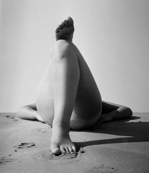 """""""Née de la vague"""" Camargue,1966,© Atelier Lucien Clergue"""