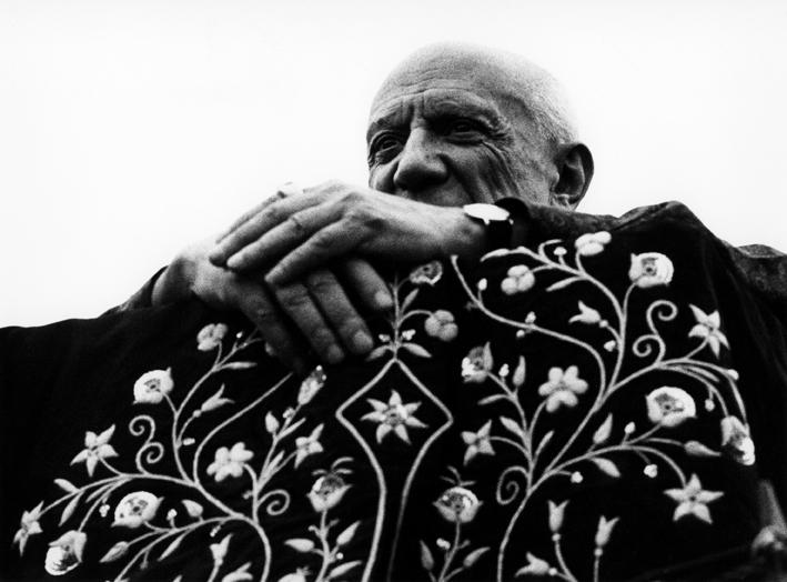 Picasso, président de la corrida, Fréjus, 1962 © Atelier Lucien Clergue © Succession Picasso 2015