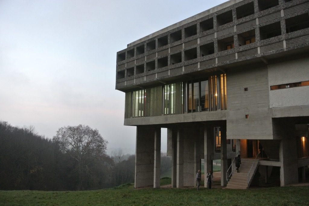 Le Corbusier's couvent de La Tourette was built for the Dominicans in