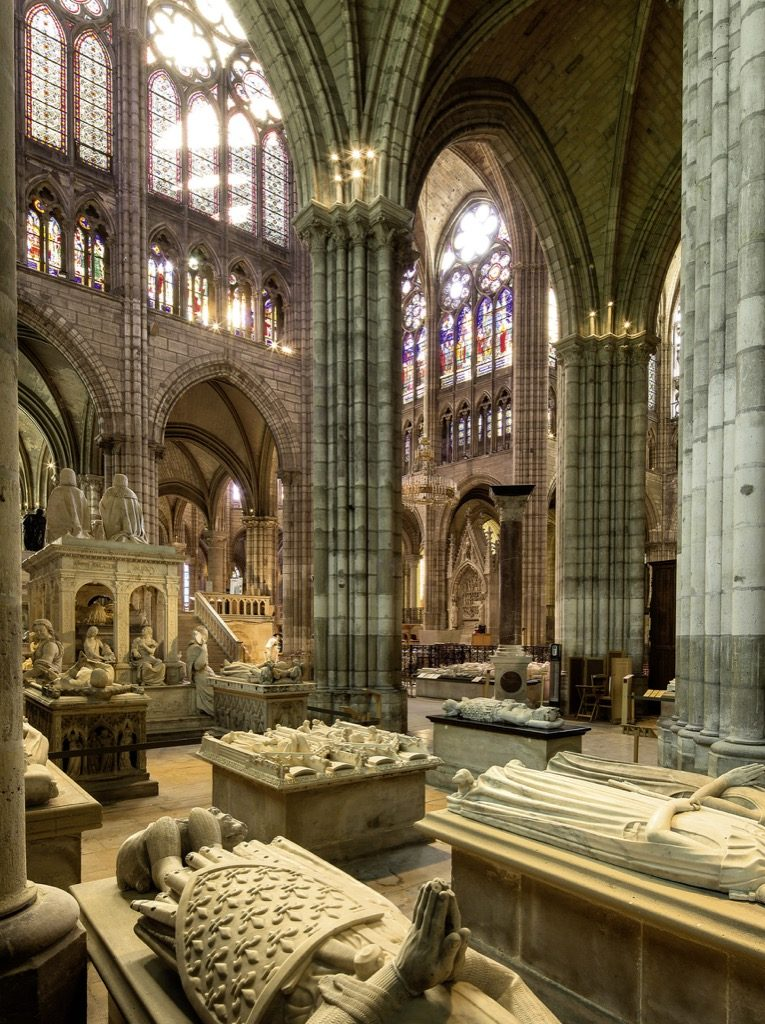Royal tombs at St Denis, © Photo Pascal Lemaître