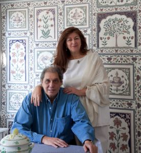 Mehmet and Dimonah Iksel, a fascinating couple with superior good taste